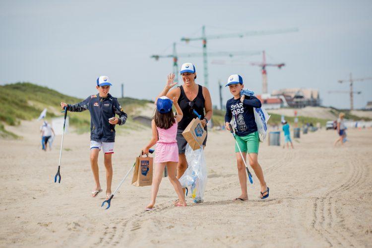 Wij deden mee aan de Boskalis Beach Cleanup Tour