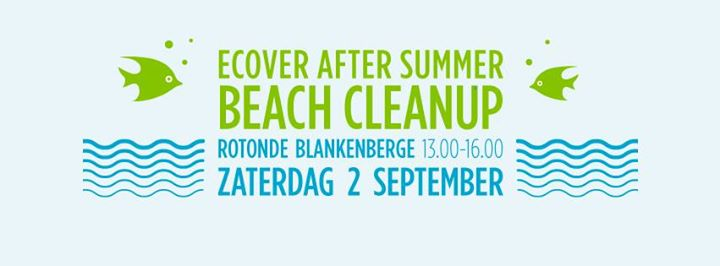 Ecover After Summer Beach Cleanup was geweldig!